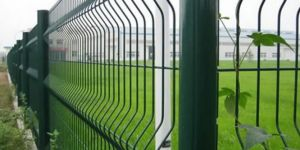 Welded Wire Fence Green
